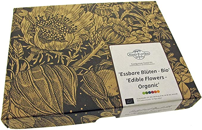 53 opinioni per Fiori commestibili (Biologici)- Set regalo di semi con 4 varietà belle e