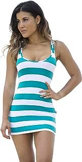 Wicked Weasel Sexy Sailor Stripe - Mini Dress (565) Women's Clothing