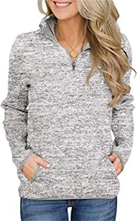 Best cute quarter zip sweatshirt Reviews