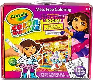 Crayola 75-0222 Dora the Explorer Color Wonder Paper Dolls Craft Kit