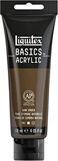 Reeves Liquitex BASICS Acrylic Paint 4oz-Raw Umber