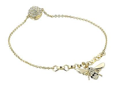 Swarovski Remix Collection Bee Bracelet (Gold Plating/Teal) Bracelet