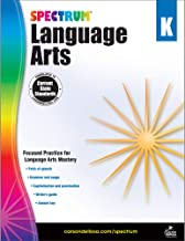 Carson Dellosa – Spectrum Language Arts, Focused Practice for Language Arts Mastery for Kindergarten, 128 Pages, Ages 5–6 with Answer Key