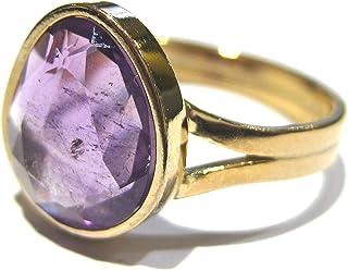 anillo Amatista Oro 750%