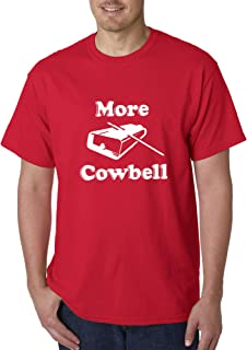 New Way 941 - Unisex T-Shirt More Cowbell Comedy Sketch SNL