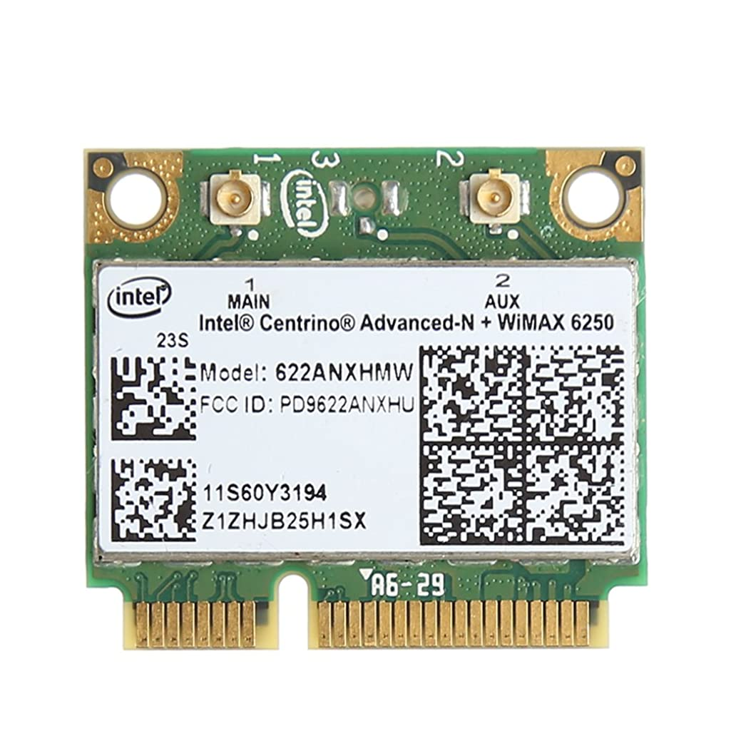 Bbbbaby 6250 FRU 60Y3195用デュアルバンド300M 2.4 + 5GワイヤレスWifi PCI-Eカード