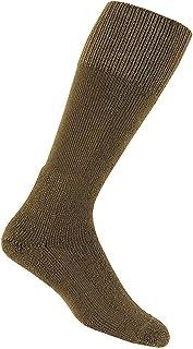 thorlos mens MCB Mcb Combat Thick Padded Sock Hiking Socks - Brown - X-Large