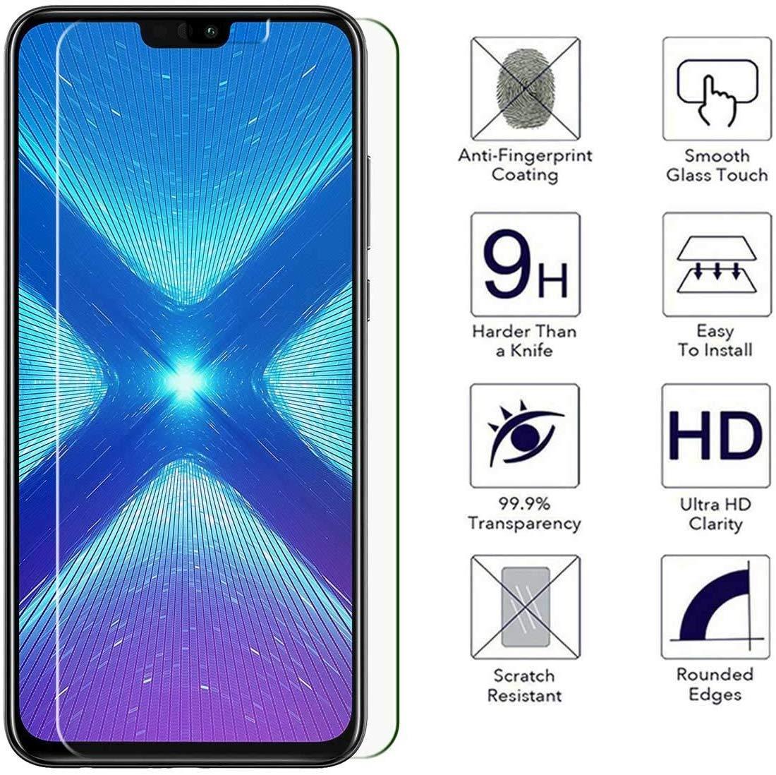 Ultra Mince 1 Pi/èces Ultra R/ésistant Protection en Verre Tremp/é /Écran pour Samsung Galaxy J6 2018 GIMTON Verre Tremp/é pour Galaxy J6 2018 Duret/é 9H