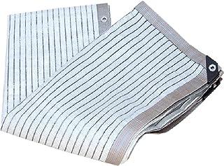 Aluminium Pergola Cover,Sunblock Schaduwdoek UV-bestendig Netto Aluminiumfolie Duurzaam Schaduwdoek, Outdoor Zon Mesh Scha...