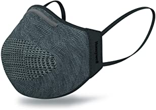 Honeywell Dark Gray Dual Layer Face Cover with 8 Replaceable Inserts, Size M/L (RWS-50111)