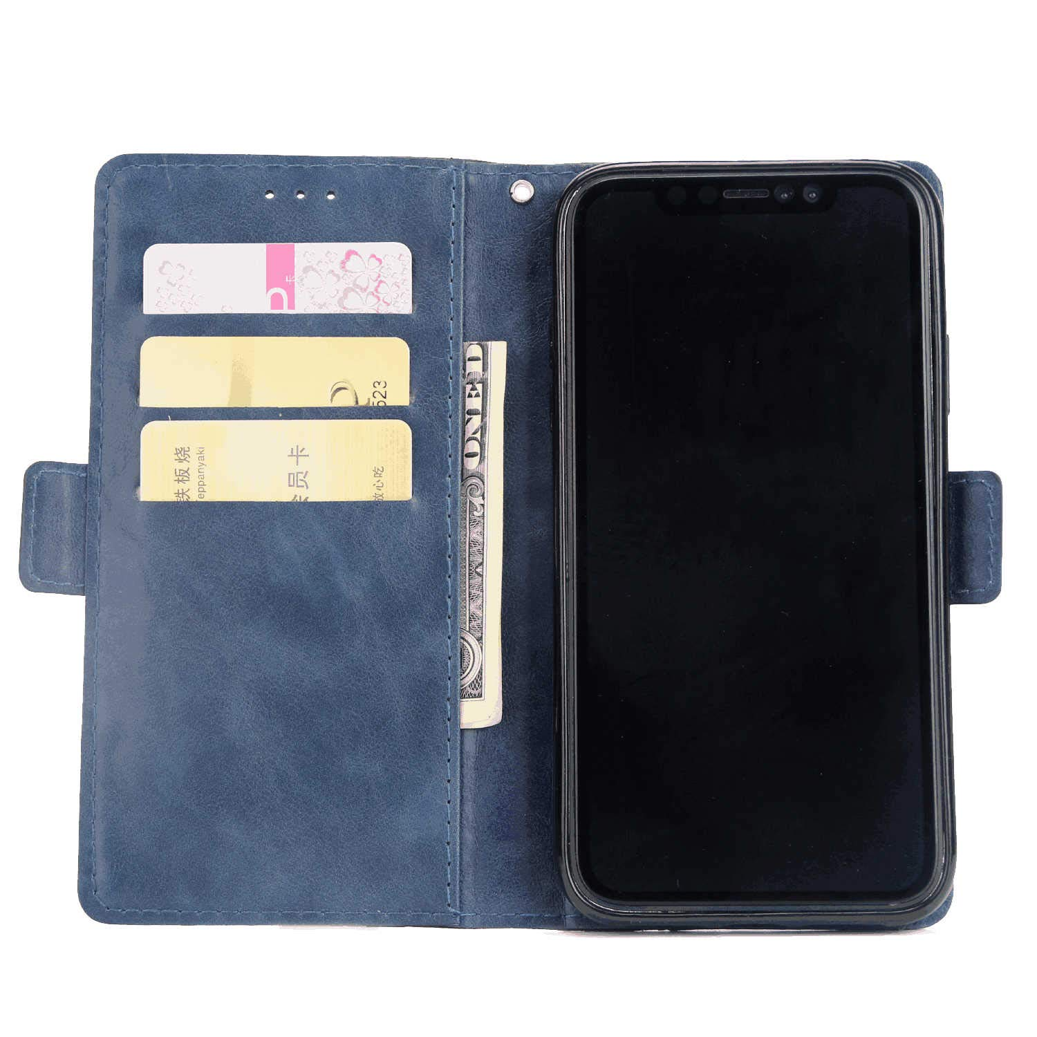 Cover for Samsung Galaxy Note8 Leather Mobile Phone case Kickstand Card Holders Luxury Business with Free Waterproof-Bag Business Samsung Galaxy Note8 Flip Case