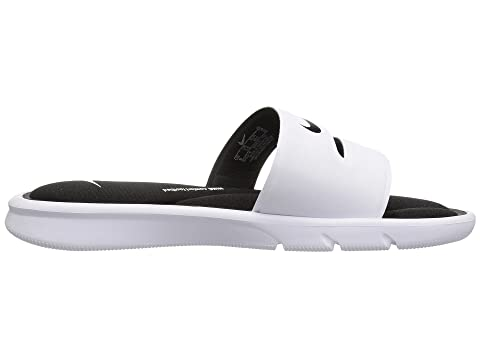 Diapositiva Blanco Negro Negro De Whitewhite Nike Ultra Negro Comodidad RnOfHPx1q