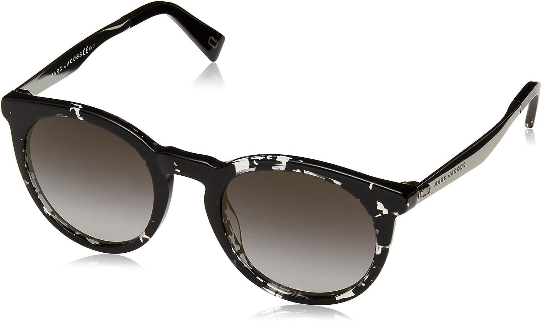 Marc Jacobs Women's Marc204s Round Sunglasses HVNBLKCRY 47 mm