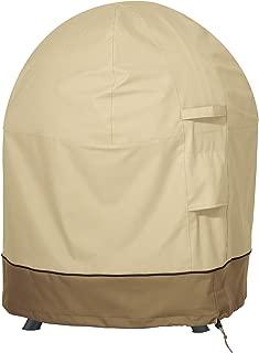 Classic Accessories 55-986-031501-00 Veranda Globe Fire Pit Cover, Fits 30