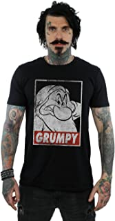 Absolute Cult, Disney Hombre Snow White Grumpy Dwarf Poster Camiseta