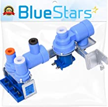 5221JA2006D Refrigerator Water Inlet Valve Assembly Replacement Part by Blue Stars - Exact Fit for LG Refrigerators - Replaces AJU34125525 AP4445614 MJX42111401 AJU34125513 1266849 AH3527457