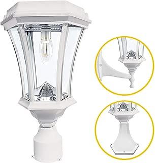 Gama Sonic Victorian Bulb Solar Light, GS Bulb, 3