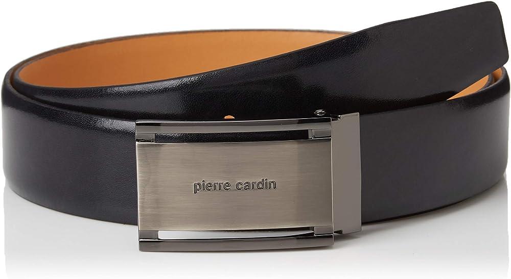 Pierre cardin,cintura per uomo,in pelle al 100 % 1070001