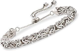 Ross-Simons Sterling Silver Byzantine Bolo Bracelet