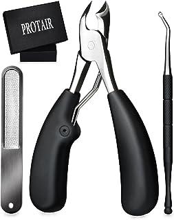 PROTAIR 爪切り ニッパー 巻き爪 硬い爪などにも対応、ゾンデと爪やすり付き
