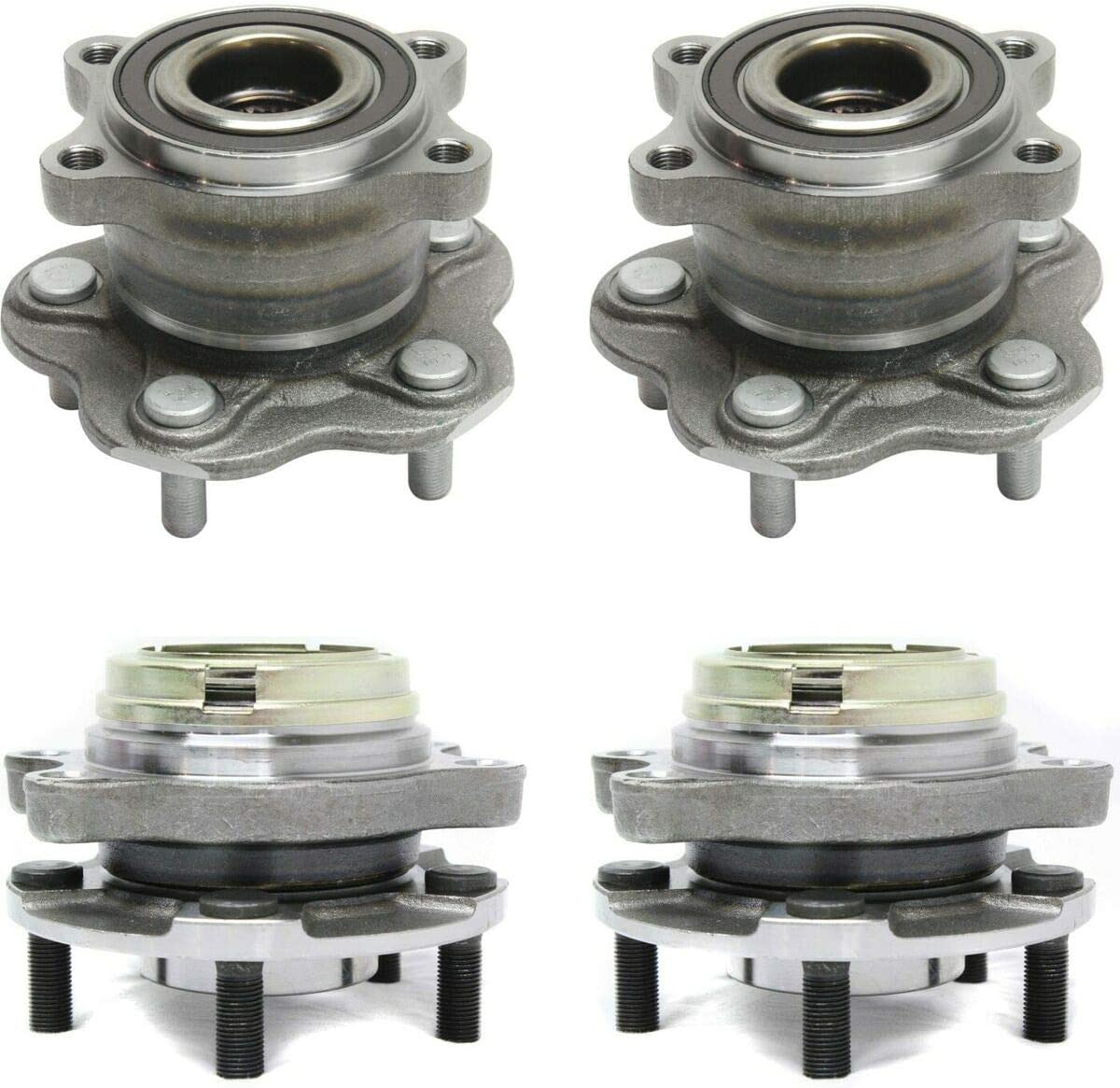 Wheel Hub Compatible with Memphis Mall 2003-2007 Front Murano Max 71% OFF Rear Nissan and
