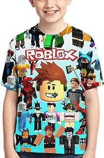 JamesAFlannigan Youth Girls Boys 3D Printed Tee RO-BLOX Shirt Kids Short Sleeve Crew Neck Youth T-Shirt