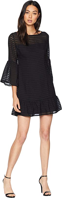 Night Vision Bell Sleeve Dress