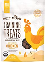 Full Moon Organic Human Grade Training Treats for Dogs