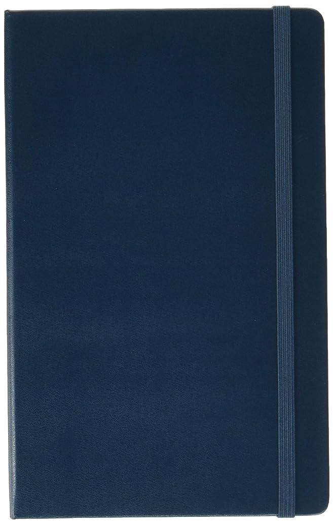 舗装する定刻補正Moleskine 12 Month Weekly Planner, Large, Sapphire Blue, Hard Cover (5 x 8.25)