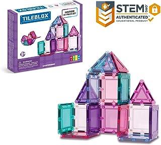 Tileblox Inspire (20 Piece) Set Magnetic Building Blocks, Educational Magnetic Tiles Kit , Magnetic Construction STEM Toy Set