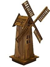 garden wooden windmill