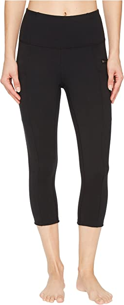 Lucy - Lighten Up Zip Capri Leggings