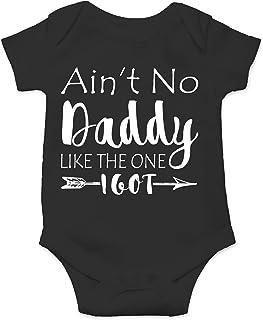CBTwear Ain't No Daddy Like The One I Got - Gangster Parody - Cute Infant One-Piece Baby Bodysuit