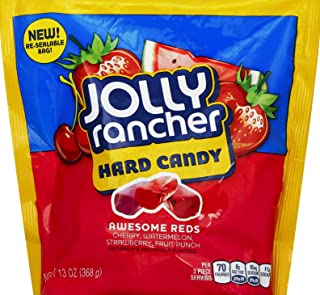 JOLLY RANCHER AWESOME REDS Hard Candy Assortment, 13-Ounce Bag