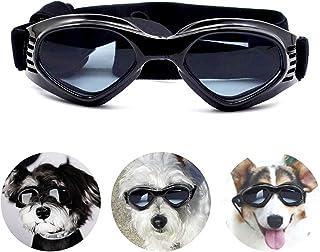 PEDOMUS - Gafas de Sol para Perros, Correas Ajustables para
