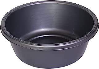 YBM HOME Round Plastic Wash Basin 1148 (1, Gray)