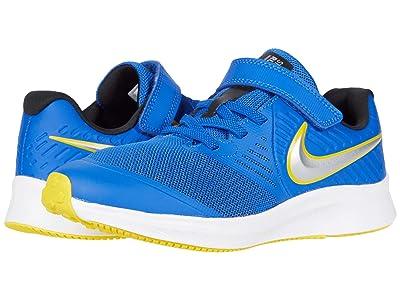 Nike Kids Star Runner 2 (Little Kid) (Game Royal/Metallic Silver/Black) Kids Shoes