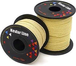 emma kites 100~2000lb Braided Kevlar String Utility Cord Mason Line for Kite Bridle Fishing Camping Packing Creative Proje...