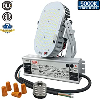 150W LED Retrofit Kit,700W MH/HPS Equivalent,100-277V 5000K 18000 Lumens,ETL/cETL/DLC Listed,Replaces Street/Area Light,High Bay,Gas Station Light,Wall Pack Light, 7 Years Warranty.
