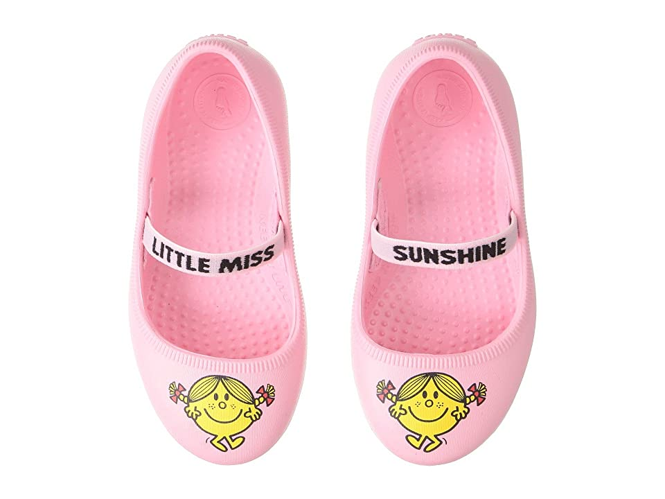 Native Kids Shoes Little Miss Sunshine Margot Print (Toddler/Little Kid) (Princess Pink) Girls Shoes