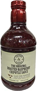 Fischer and Wieser Razzpotle Roasted Raspberry Chipotle Sauce, 40-Ounce Bottle