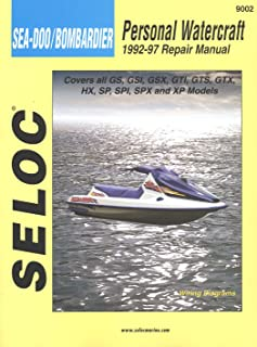 Sierra 18-09002 Sea-Doo/Bombardier Personal Watercraft Repair Manual (1992-97)