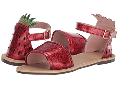 crewcuts by J.Crew Strawberry Jelly Sandal (Toddler/Little Kid/Big Kid) (Milan Red) Girl