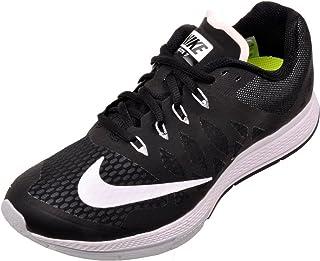 Nike Womens Air Zoom Elite 7 Trail Running Shoes Black White 4abe6b613