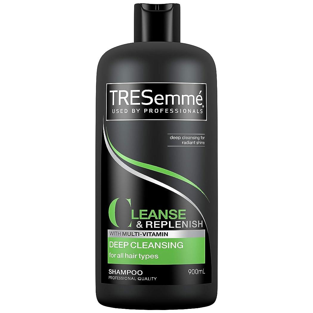 フレットへこみポットTresemme Deep Cleansing Shampoo 900 ml