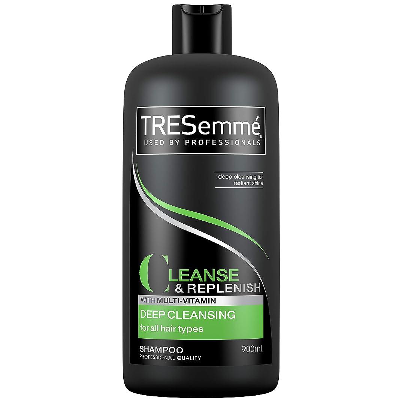 世紀先のことを考える権限を与えるTresemme Deep Cleansing Shampoo 900 ml