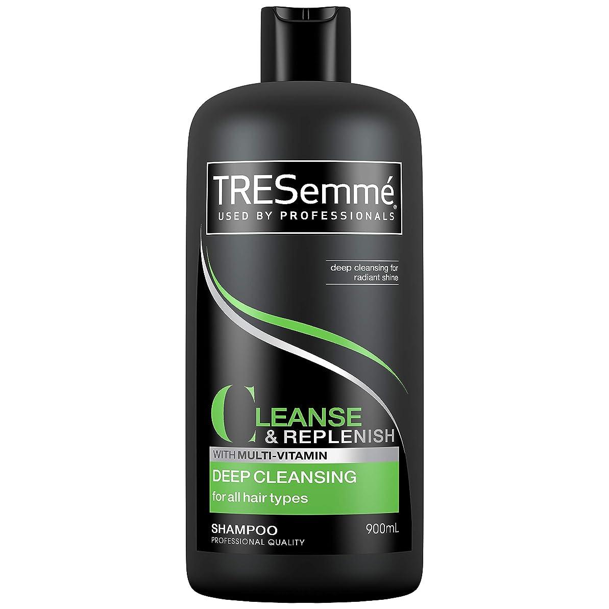 飲食店仕事回復するTresemme Deep Cleansing Shampoo 900 ml