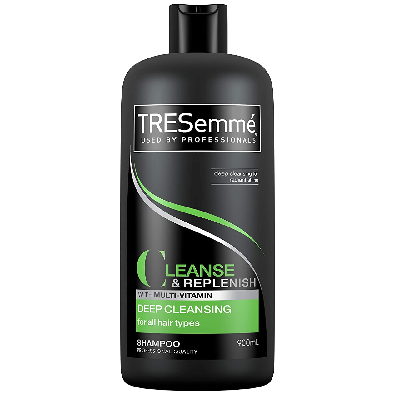 あいまい地殻タイマーTresemme Deep Cleansing Shampoo 900 ml