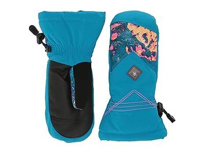Spyder Kids Inspire (Little Kids/Big Kids) (Glacier Print) Extreme Cold Weather Gloves