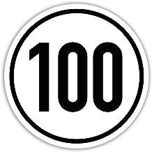 Suchergebnis Auf Für 100 Kmh Schild Anhänger